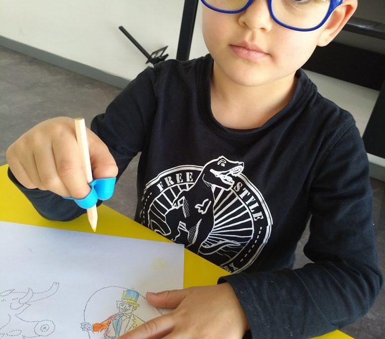 Occhi e postura dei bambini