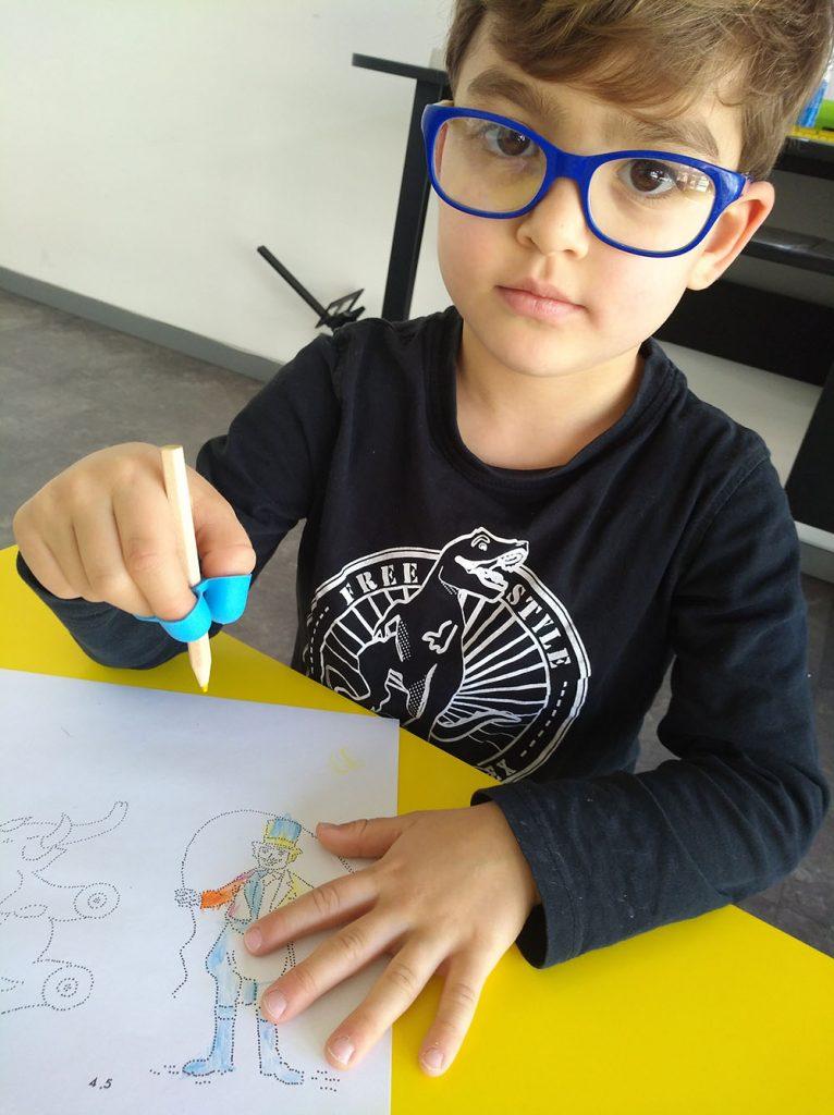 esercizi visivi per bambini